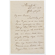 "Private Letters written by Captain Charles Matheson to ""My dear Gracie"""