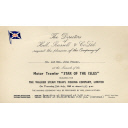 Star of the Isles, Invitation to launch at Hall Russell & Co. Ltd.