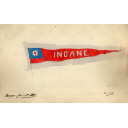 Burgee Design For Steam Tug 'Ingane' Built By Hall Russell In 1902