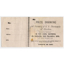 Raffle Ticket For Oil Painting Of S.S. Thermopylae