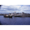 colour slide showing the trawler Craiglynne in Aberdeen harbour