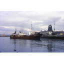 colour slide showing the trawler Mount Everest in Aberdeen harbour