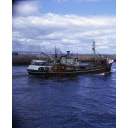 colour slide showing the trawler Mount Melleray in Aberdeen harbour